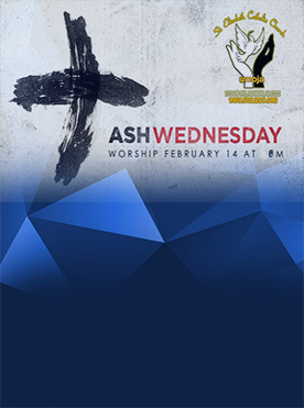 Ash Wednesday Mass 6PM